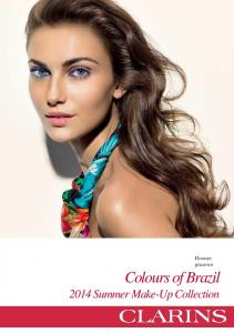 Dossier prasowe Colours of Brazil Summer Make-Up Collection