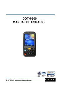 DOTH-300 MANUAL DE USUARIO