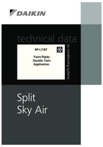 Double Twin Application Split Sky Air