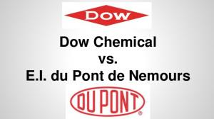 Dow Chemical vs. E.I. du Pont de Nemours