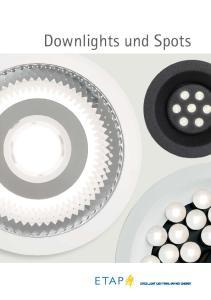 Downlights und Spots