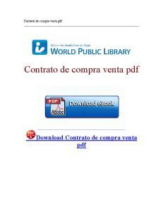 Download Contrato de compra venta pdf