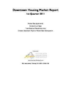 Downtown Housing Market Report