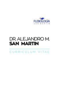 DR. ALEJANDRO M. SAN MARTIN