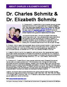 Dr. Charles Schmitz & Dr. Elizabeth Schmitz