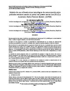 Dr. Luis Joyanes Aguilar,Phd.  Ing. William Ernesto Camilo Reynoso, DEA, Msc.  Dr. Lucio Colaiacomo,Phd.  Palabras claves: 1