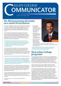 Dr. Nivet presents diversity as a mark of excellence