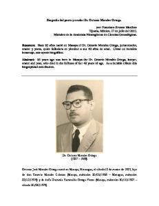 Dr. Octavio Morales Ortega ( )