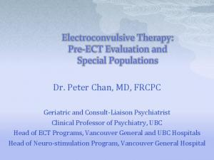 Dr. Peter Chan, MD, FRCPC