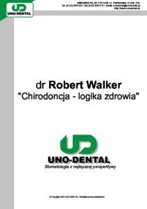 dr Robert Walker