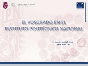 Dr. Roberto Limas Ballesteros Septiembre de 2011