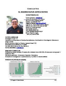 Dr. ROGERIO RAFAEL SOTELO MUNDO