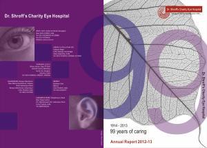 Dr. Shroff s Charity Eye Hospital
