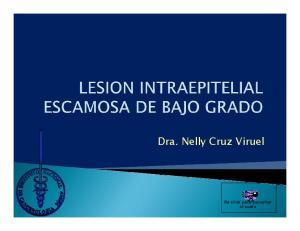 Dra. Nelly Cruz Viruel. Da click para escuchar el audio