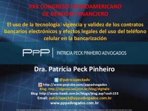 Dra. Patricia Peck Pinheiro