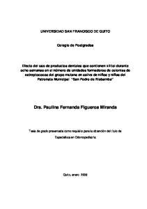 Dra. Paulina Fernanda Figueroa Miranda