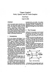 Dragon Graphics Forth, OpenGL and 3D-Turtle-Graphics