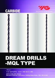 DREAM DRILLS -MQL TYPE