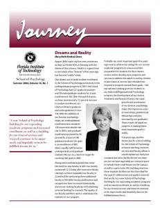 Dreams and Reality Mary Beth Kenkel, Dean