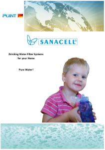 Drinking Water Filter Systems for your Home. Pure Water!