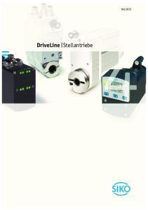 DriveLine Stellantriebe