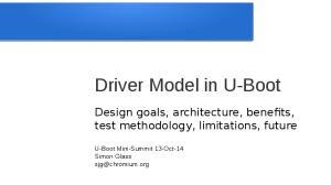 Driver Model in U-Boot