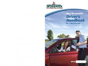 Driver s Handbook Be safe and sound