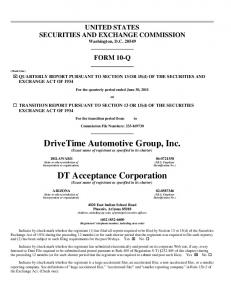 DriveTime Automotive Group, Inc