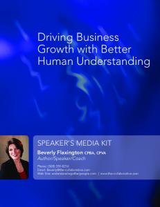 Driving Business Growth with Better Human Understanding