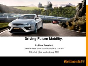 Driving Future Mobility