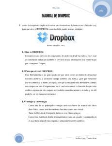 Dropbox. Fuente: (dropbox, 2011)