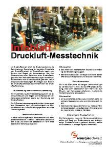 Druckluft-Messtechnik
