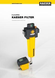 Druckluftfilter KAESER FILTER