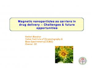 drug delivery Challenges & future opportunities