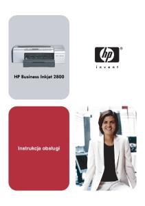 Drukarka HP Business Inkjet serii 2800