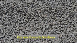 Dry mix Concrete Solutions in Dubai