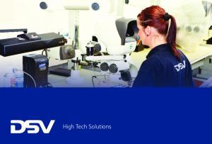 DSV High tech Key Figures