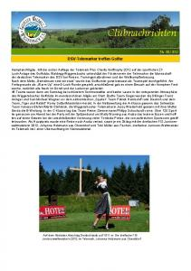 DSV-Telemarker treffen Golfer