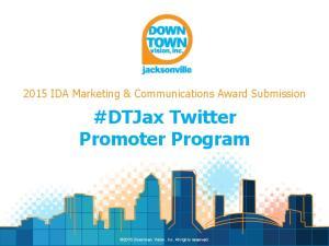#DTJax Twitter Promoter Program