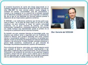 Dtor. Gerente del SESCAM
