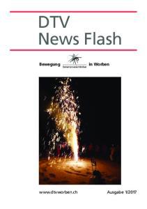 DTV News Flash. Damenturnverein Worben