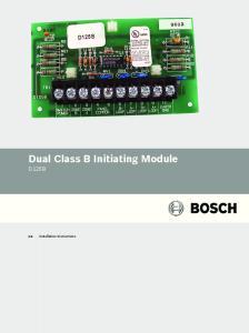 Dual Class B Initiating Module