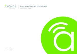 DUAL WAN GIGABIT VPN ROUTER
