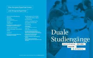 Duale Studiengänge Duale Studiengänge