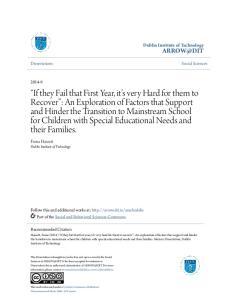 Dublin Institute of Technology. Fiona Hassett Dublin Institute of Technology