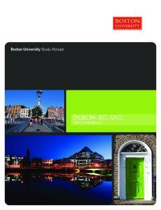DUBLIN IRELAND Handbook