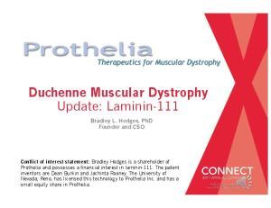 Duchenne Muscular Dystrophy Update: Laminin-111