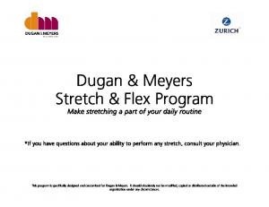 Dugan & Meyers Stretch & Flex Program