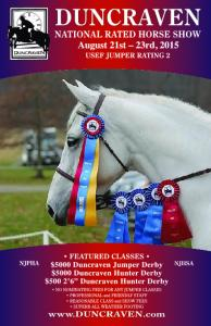 DUNCRAVEN AUGUST HORSE SHOW 2015 OFFICIALS