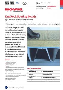 DuoRock Roofing Boards